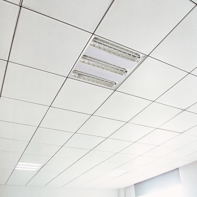 585*585 595*595 Metal Commercial False Ceiling Tiles Systems