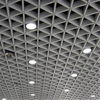 10 Years Experience Antibacterial Aluminum False Grid Ceiling With SGS Certificate