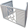 Outdoor Decorative Aluminum Cover for Protecting Air Conditioner
