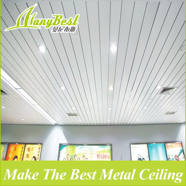 2019 C-Shaped Environmental New-style Decorative Aluminum Strech Ceilling Tile/strip Ceiling