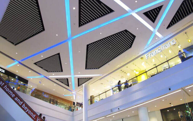 Introduction to the characteristics of aluminum ceiling