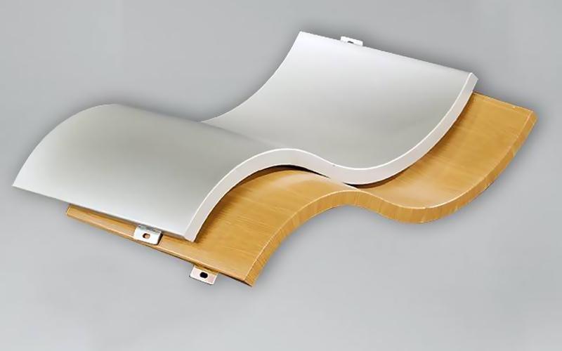 hyperbolic aluminum panel