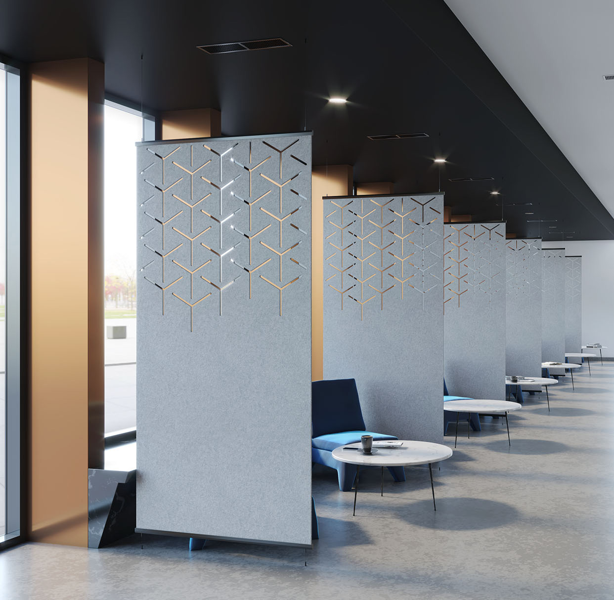 High Quality Commercial Room Aluminum Frame Industrial Partition Office Hotel Partition Wall Panel