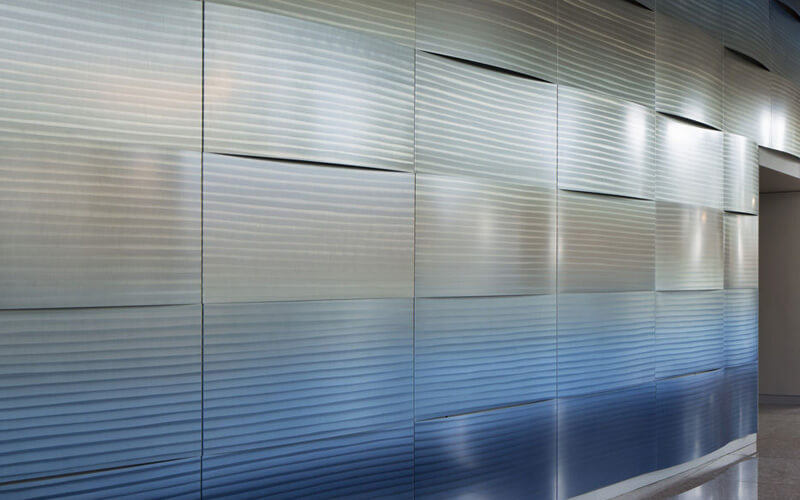 What outstanding performance does corrugated aluminium panel have?