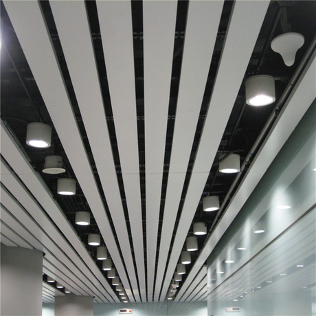 2020 C-Shaped Environmental New-style Decorative Aluminum Strech Ceilling Tile/strip Ceiling