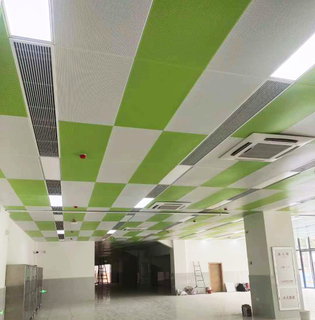 600mm X 600mm /600 X 1200 Aluminum Accoustic Metal Suspended Ceiling Panel