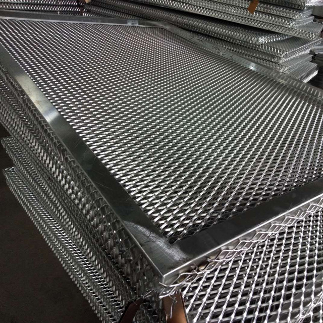 Powder Coated Aluminum Expanded Metal Mesh for Decoration
