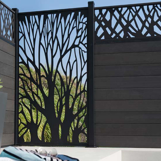 Customized Size Architectural Aluminum Screen Metal Panel Elegant Design