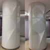 Customized Design Wall Decoration Metal Round Column Shaped Aluminum Veneer