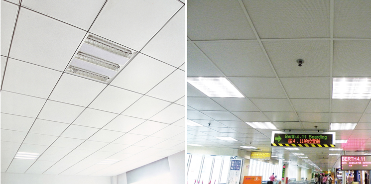 595 595 Lay In Acoustic Aluminium Perforated Ceiling From
