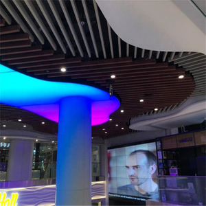 Decorative Aluminum Metal Baffle Ceiling Box Ceiling Tiles