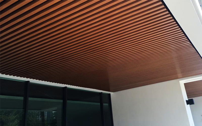 Aluminum baffle ceiling engineering advantages